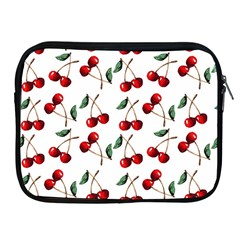 Cherry Red Apple Ipad 2/3/4 Zipper Cases by Kathrinlegg