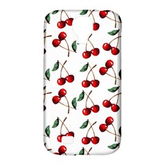 Cherry Red Samsung Galaxy S4 Classic Hardshell Case (pc+silicone) by Kathrinlegg