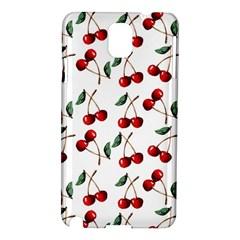 Cherry Red Samsung Galaxy Note 3 N9005 Hardshell Case by Kathrinlegg