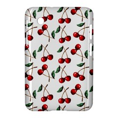 Cherry Red Samsung Galaxy Tab 2 (7 ) P3100 Hardshell Case  by Kathrinlegg