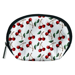 Cherry Red Accessory Pouches (medium)  by Kathrinlegg