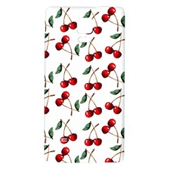 Cherry Red Galaxy Note 4 Back Case by Kathrinlegg