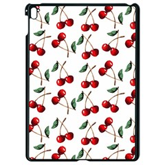 Cherry Red Apple Ipad Pro 9 7   Black Seamless Case by Kathrinlegg