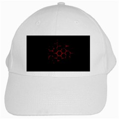 Abstract Pattern Honeycomb White Cap by BangZart