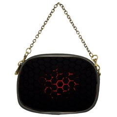Abstract Pattern Honeycomb Chain Purses (one Side)  by BangZart