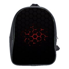 Abstract Pattern Honeycomb School Bags(large)  by BangZart