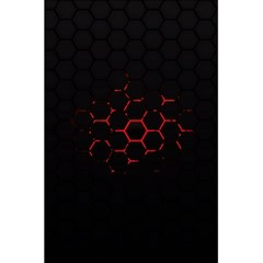 Abstract Pattern Honeycomb 5 5  X 8 5  Notebooks by BangZart