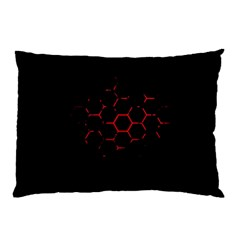 Abstract Pattern Honeycomb Pillow Case (two Sides)