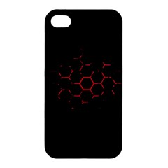 Abstract Pattern Honeycomb Apple Iphone 4/4s Hardshell Case