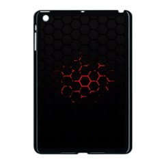 Abstract Pattern Honeycomb Apple Ipad Mini Case (black) by BangZart
