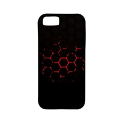 Abstract Pattern Honeycomb Apple Iphone 5 Classic Hardshell Case (pc+silicone) by BangZart