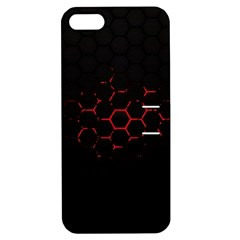 Abstract Pattern Honeycomb Apple Iphone 5 Hardshell Case With Stand by BangZart