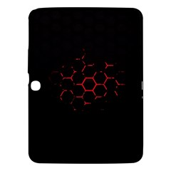 Abstract Pattern Honeycomb Samsung Galaxy Tab 3 (10 1 ) P5200 Hardshell Case