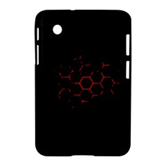 Abstract Pattern Honeycomb Samsung Galaxy Tab 2 (7 ) P3100 Hardshell Case