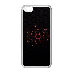 Abstract Pattern Honeycomb Apple Iphone 5c Seamless Case (white) by BangZart