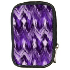 Purple Wavy Compact Camera Cases by KirstenStar