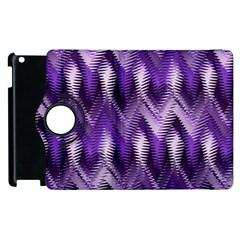 Purple Wavy Apple Ipad 3/4 Flip 360 Case by KirstenStar