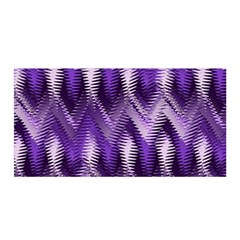 Purple Wavy Satin Wrap by KirstenStar