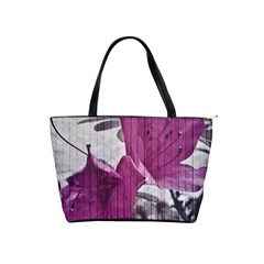 Vintage Style Flower Photo Shoulder Handbags by dflcprints