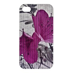 Vintage Style Flower Photo Apple Iphone 4/4s Hardshell Case by dflcprints