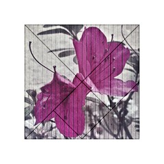 Vintage Style Flower Photo Acrylic Tangram Puzzle (4  X 4 ) by dflcprints