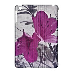 Vintage Style Flower Photo Apple Ipad Mini Hardshell Case (compatible With Smart Cover) by dflcprints