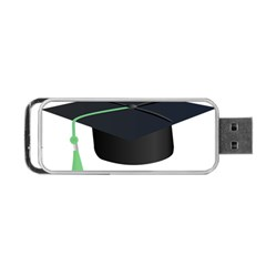 Graduate Cap Portable Usb Flash (two Sides) by Colorfulart23