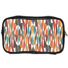 Colorful Geometric Abstract Toiletries Bags by linceazul