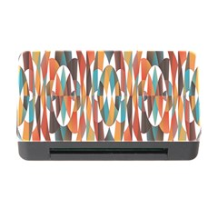 Colorful Geometric Abstract Memory Card Reader With Cf by linceazul
