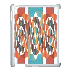 Colorful Geometric Abstract Apple Ipad 3/4 Case (white) by linceazul