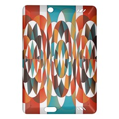 Colorful Geometric Abstract Amazon Kindle Fire Hd (2013) Hardshell Case by linceazul