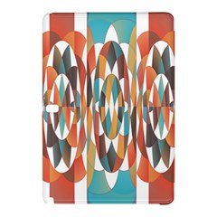 Colorful Geometric Abstract Samsung Galaxy Tab Pro 10 1 Hardshell Case by linceazul