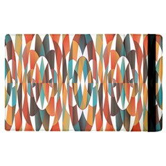 Colorful Geometric Abstract Apple Ipad Pro 9 7   Flip Case by linceazul