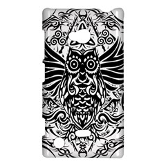 Tattoo Tribal Owl Nokia Lumia 720 by Valentinaart
