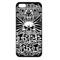 Tattoo Tribal Street Art Apple Iphone 5 Seamless Case (black) by Valentinaart