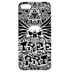 Tattoo Tribal Street Art Apple Iphone 5 Hardshell Case With Stand by Valentinaart