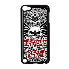 Tattoo Tribal Street Art Apple Ipod Touch 5 Case (black) by Valentinaart