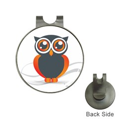 Owl Logo Hat Clips With Golf Markers by BangZart