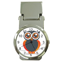 Owl Logo Money Clip Watches by BangZart