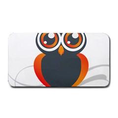 Owl Logo Medium Bar Mats by BangZart