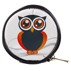 Owl Logo Mini Makeup Bags