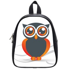 Owl Logo School Bags (small)