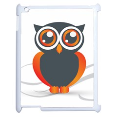 Owl Logo Apple Ipad 2 Case (white)