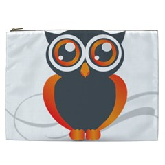 Owl Logo Cosmetic Bag (xxl)  by BangZart