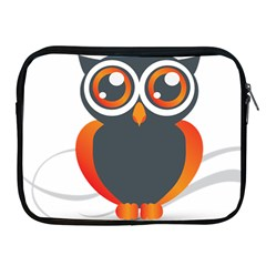 Owl Logo Apple Ipad 2/3/4 Zipper Cases by BangZart