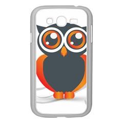 Owl Logo Samsung Galaxy Grand Duos I9082 Case (white) by BangZart