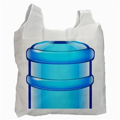 Large Water Bottle Recycle Bag (two Side)
