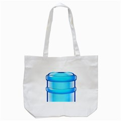 Large Water Bottle Tote Bag (white)