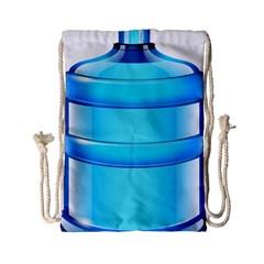 Large Water Bottle Drawstring Bag (small) by BangZart
