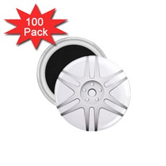 Wheel Skin Cover 1 75  Magnets (100 Pack)  by BangZart